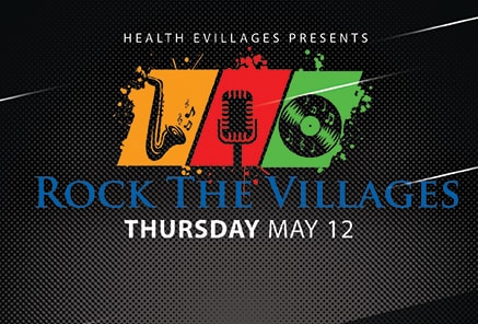 "Health eVillages Presents ""Rock The Villages"""