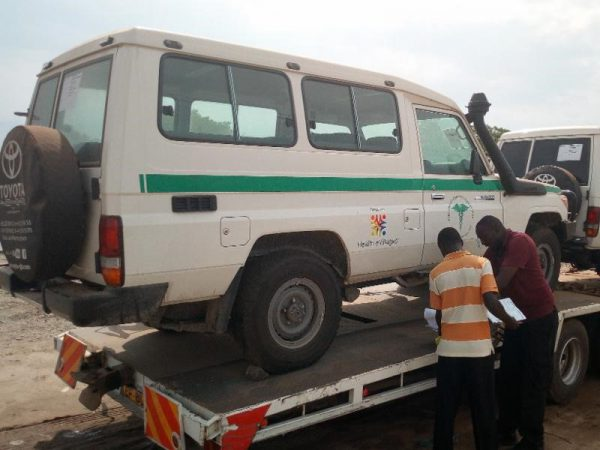 Transporting Patients and Delivering Hope to South Sudan