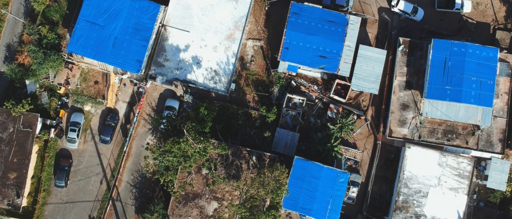 Blue Tarps of Puerto Rico