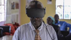 Sharing the Virtual Reality Experience with Lwala